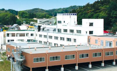 ひらた中央病院の写真1